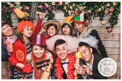 Wedding of Wen Foo & Eunice | © www.SRSLYPhotobooth.sg