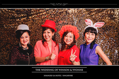 © Wedding of Winson & Yvonne | SRSLYPhotobooth.sg
