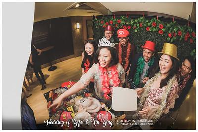 Wedding o Yifei & Xin Ying | © www.SRSLYPhotobooth.sg