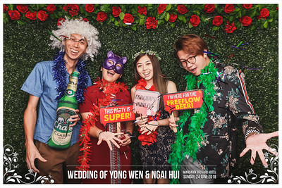 Wedding of Yong Wen & Ngai Hui | © www.SRSLYPhotobooth.sg