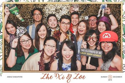 Wedding of Zhe Xi & Zoe   © www.SRSLYPhotobooth.sg