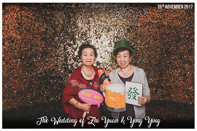 Wedding of Zhi Yuan & Ying Ying | © www.SRSLYPhotobooth.sg