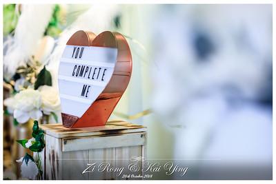 Wedding of Zi Rong & Kai Ying | © www.SRSLYPhotobooth.sg