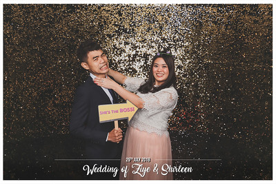 Wedding of Ziye & Shirleen | © SRSLYPhotobooth.sg