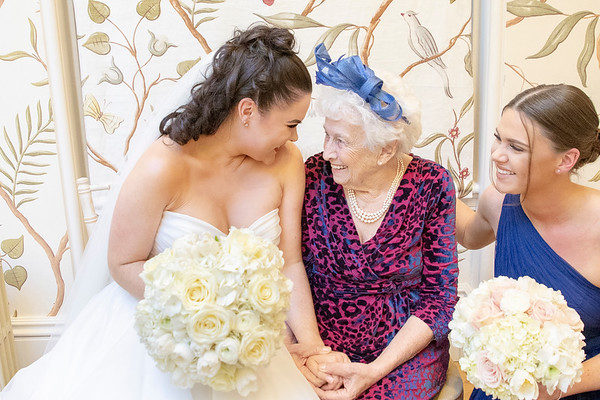 A special moment with Nan
