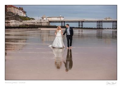 Cromer beach wedding - north norfolk wedding photography