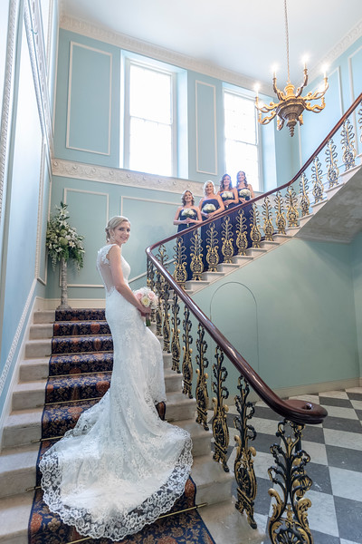 A beatufil dress at Hylands House, Chelmsford