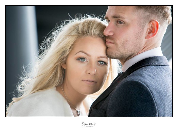 Newlyweds at Voewood