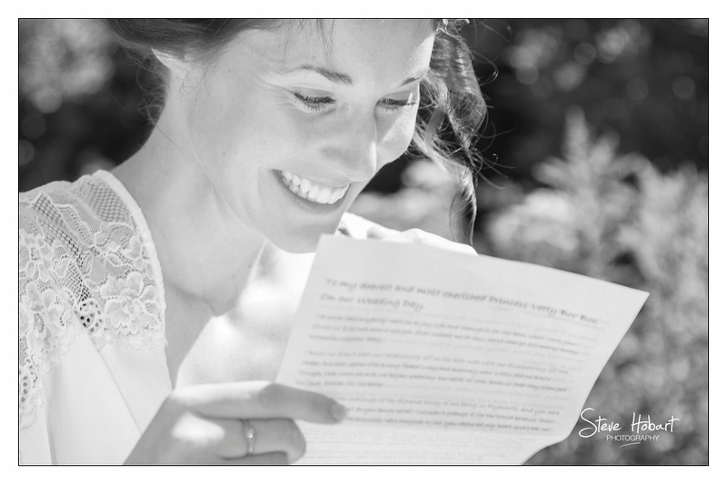 A letter from your future husband at the bridal prep at voewood wedding photography