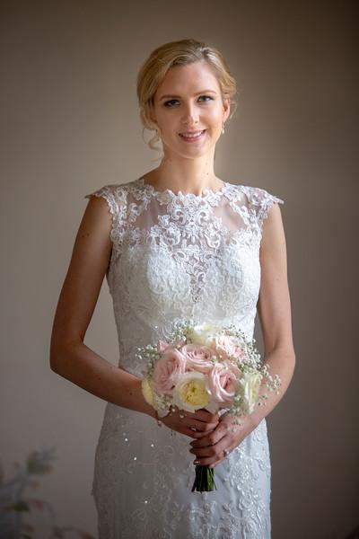 Simple elegance - Holkham hall wedding photography