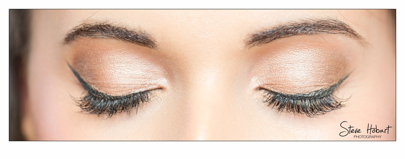 The eyes have it - bridal preparations at voewood