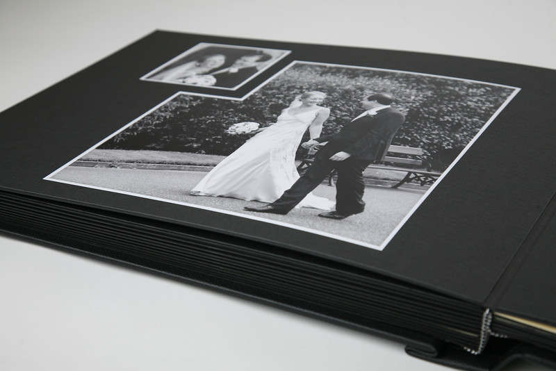 """A truly classic album in a variety of cover materials. Sizes are 14""""x11"""" and 16""""x12""""."""