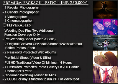 Wedding Photography Packages In Delhi And Ncr