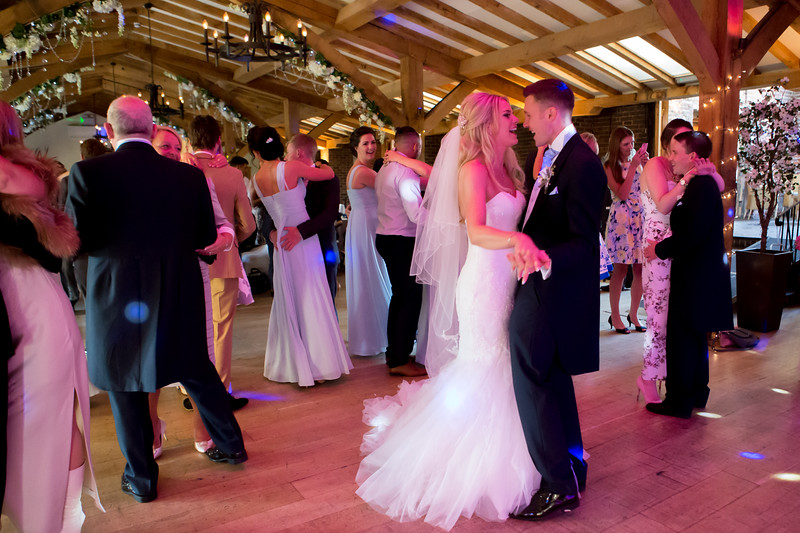 The First Dance at a wedding, the midlands.
