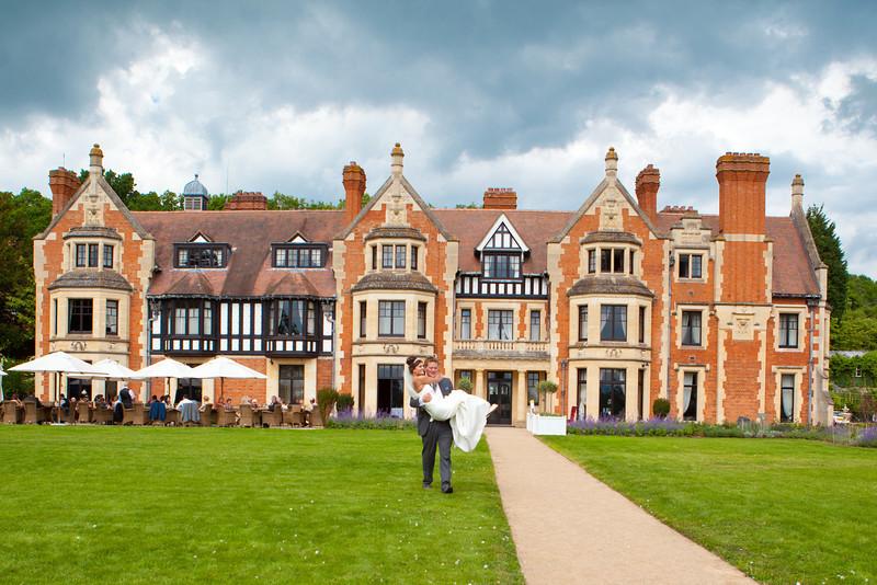 The Wood Norton Hotel wedding photography, Evesham