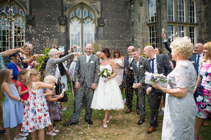 Wedding photography at Priory Hall, Dudley.