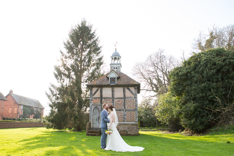 Wedding photography at Brockencote Hall, Kidderminster