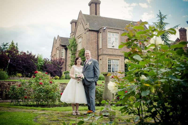 Dunsley Hall, Kinver wedding photography.