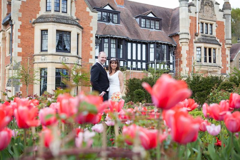Wedding photography at The Wood Norton, Evesham.