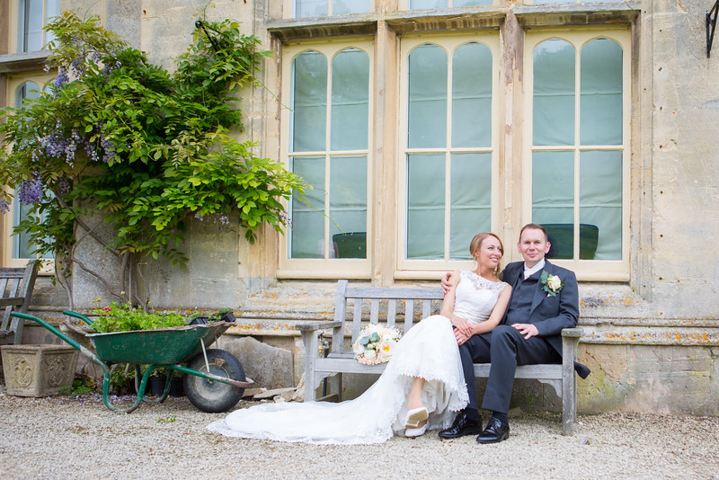 Wedding photography at Dumbleton Hall.