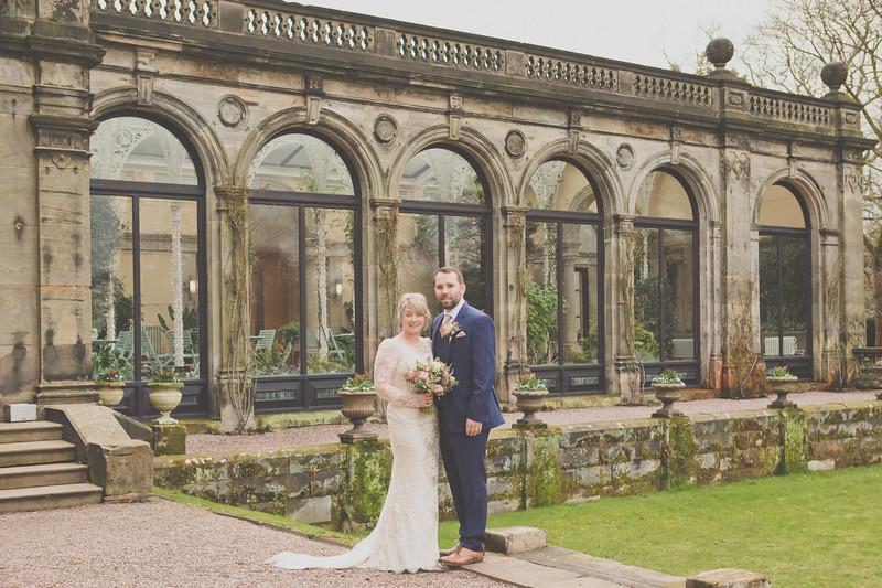 Wedding photography at Sandon Hall, Stafford.