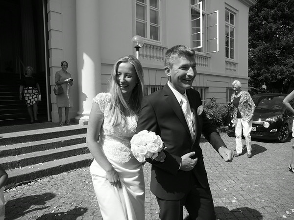Erik & Karolina Van Weerden Wedding 2. August 2014 in Lübeck. Photo: Martin Bager