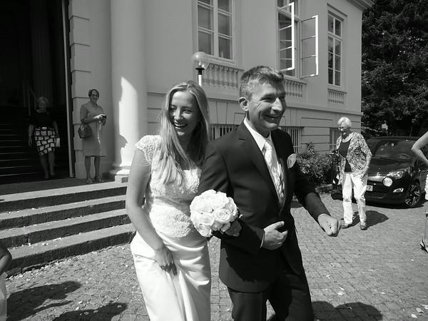 Erik & Karolina Van Weerden Wedding 2. August 2014 in Lübeck. Photo: Martin Bager