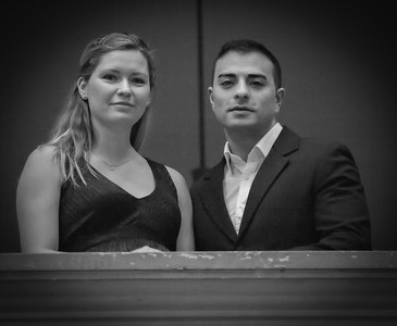 Farzam Abolhosseini og Sara Dam-Andersen Abolhosseini. Photo: Martin Bager.