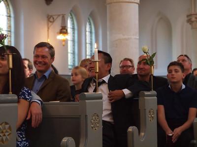 Anders Hovgaard Pedersen og Krista Roelsgaard's bryllup 2014.  Foto: Martin Bager