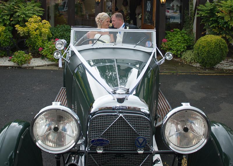 Lagonda Wedding Carriage