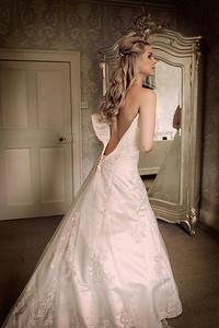 Kate amd Paul's elegant Prestwold Hall wedding