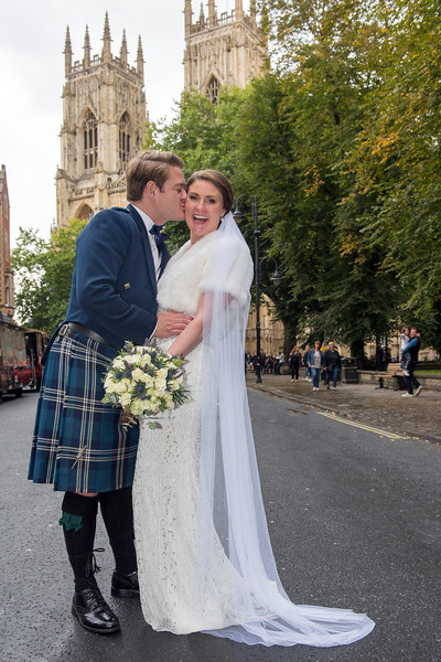Miss Claire Chaplain married Mr Hamish McNicol at York Register Office on 15th September followed by a reception at the Hotel du Vin.