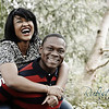 Image by Wedding photography Aberdeen Rubislaw Studio<br /> Ify & Dami pre wedding shoot at Johnstone Gardens, March 2013