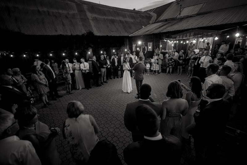 A moonlight first dance
