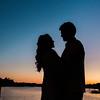 bride-groom-sunset-dock-portrait-boone-hall-plantation-charleston-sc-wedding-kate-timbers-photography-8487