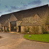 exterior of great tythe barn tetbury