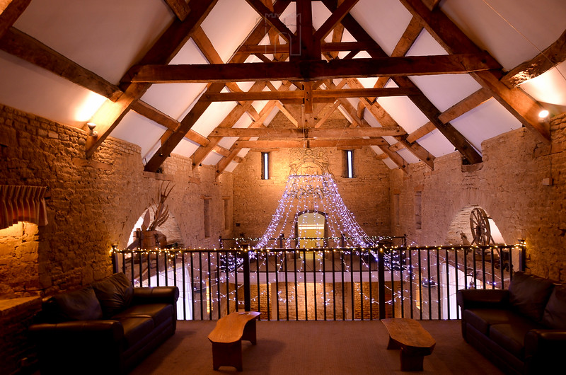 mezzanine balcony at the great tythe barn