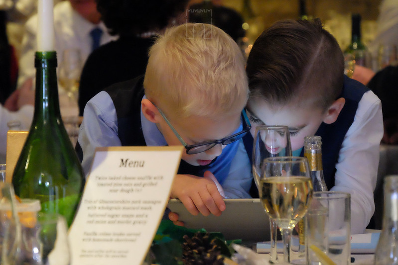 wedding page boys engrossed