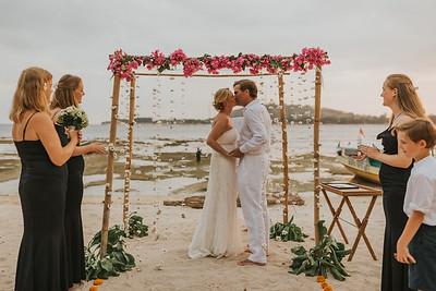 Wedding vow renewal ceremony of Edward&Alexandra