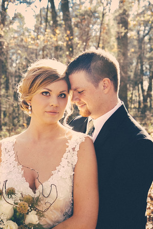 Amanda + Brock. Married
