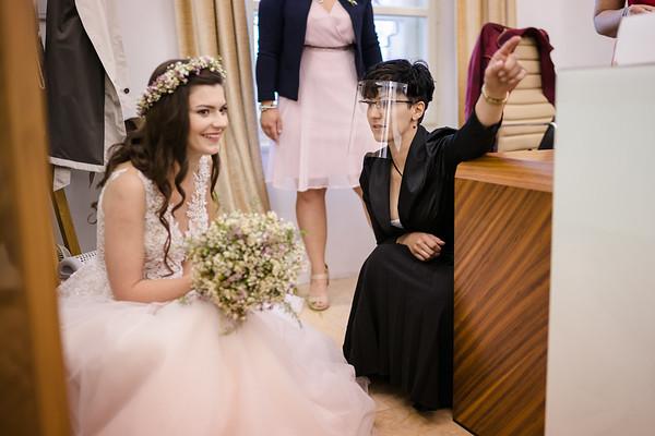 svatba v Hradci Králové