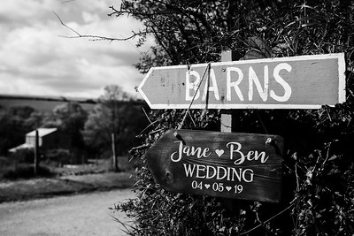 1Ben & Jane Nancarrow Farm Wedding-BW