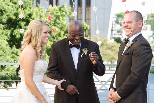 Caitlin & Ryan. Married