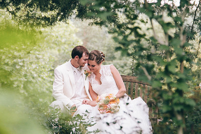 Courtney & Justin. Married