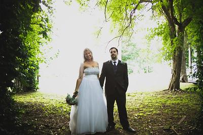 Denise + Josh. Married