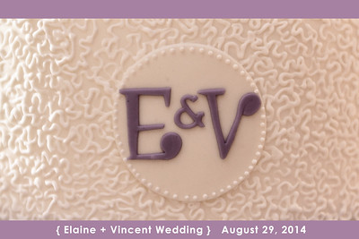 Elaine - Vincent wedding