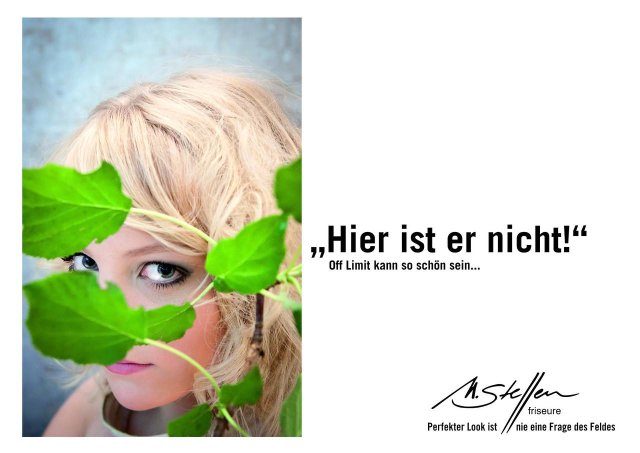 Eine Anzeige von uns für eine Schaltung in einer Golfzeitschrift durch unseren Lieblingssalon www.m-steffen.de