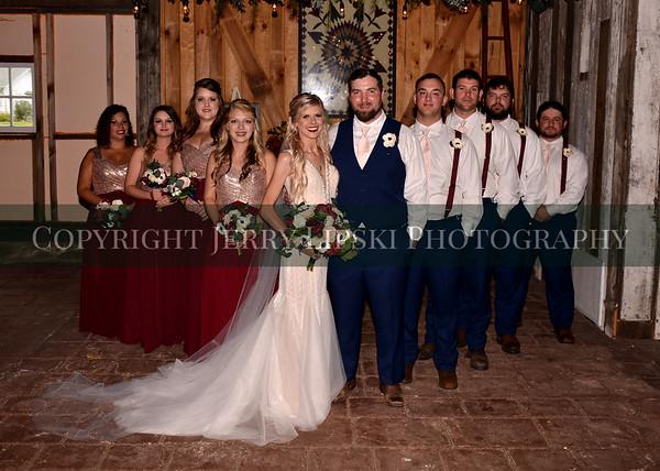 Bridal Party August 31, 2019