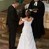 Hochzeitsbilder von Holm und Gudrun, die Trauung in der Lutherkirche Chemnitz