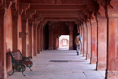Man in Archway, Fatehpur Sikri
